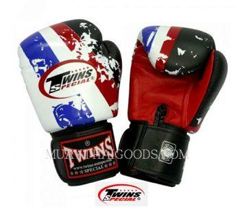 TWINS SPECIAL Fancy Gloves Velcro Closure Thai Flag FBGV-44 BANGKOK