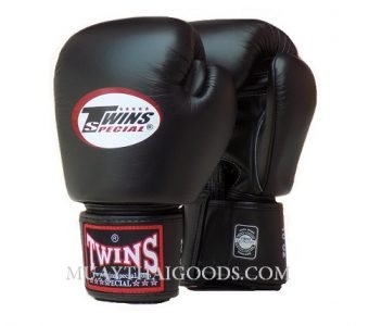 TWINS SPECIAL Gloves Velcro Black BGVL3 - BLACK
