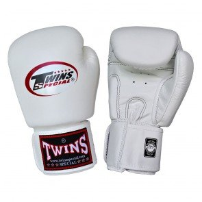 TWINS SPECIAL Gloves Velcro White BGVL3-WHITE