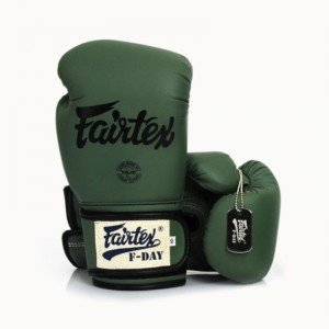 FAIRTEX GREEN F DAY BOXING GLOVES LIMITED EDITION BGV 11