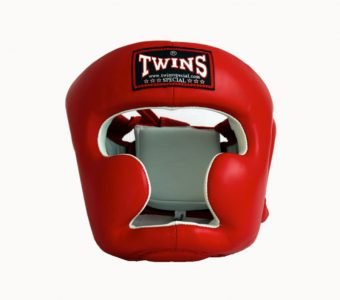 Twins Special Headguard HGL 3 Red / White