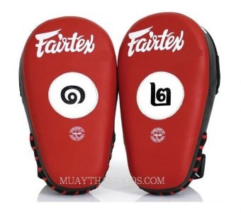 THAI VERSION Fairtex Muay Thai Boxing Focus Punching Mitts FMV12