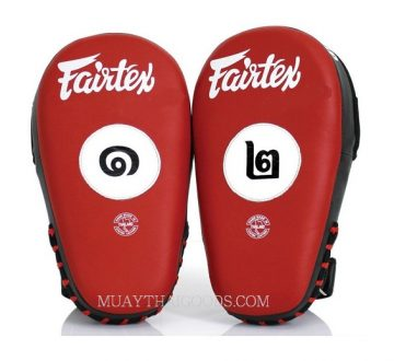 THAI VERSION Fairtex Muay Thai Boxing Focus Punching Mitts FMV12