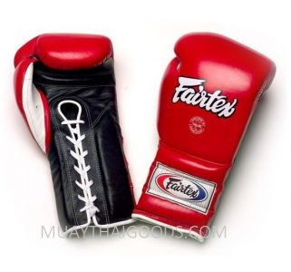 PRO TRAINING BOXING GLOVES MEXICAN STYLE FAIRTEX LACES BGL7