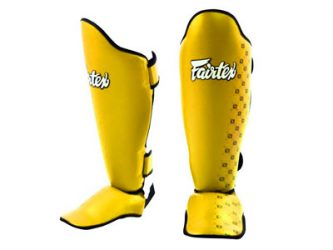 Fairtex Shin Guards SP5 Yellow