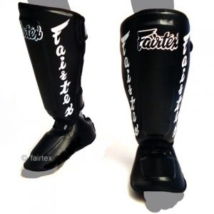 FAIRTEX SP7 Shin GUARDS Pads Black