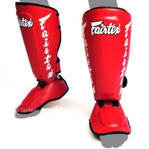 Fairtex Shin Pads SP7 Red