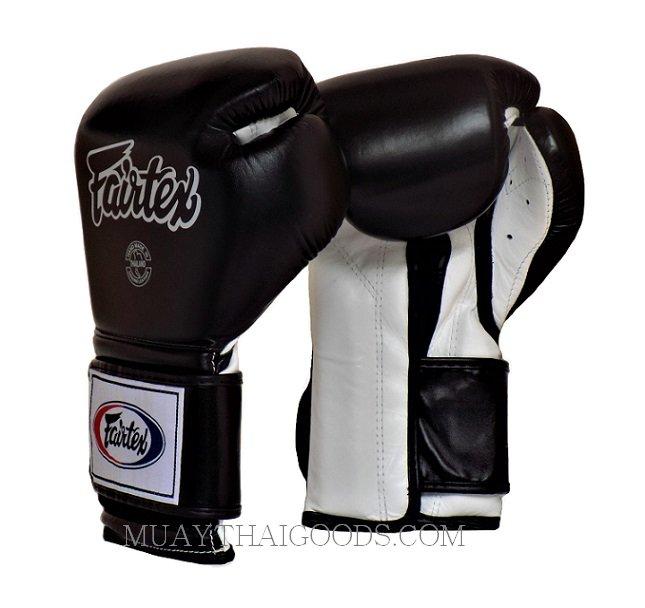BGV9 Fairtex White-Red Mexican Style Muay-Thai Boxing Gloves