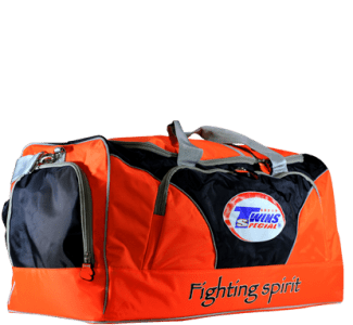 TWINS SPECIAL TRAINING GYM BAG ORANGE BAG 2