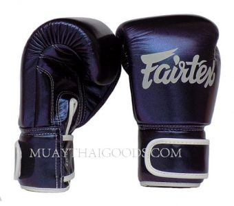 FAIRTEX BGV12 AURA DARK IN THE NIGHT MUAY THAI KICKBOXING GLOVES MADE IN LEATHER