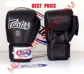 FAIRTEX BGV1 BOXING GLOVES FULL BLACK