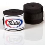 FAIRTEX HAND WRAPS BLACK