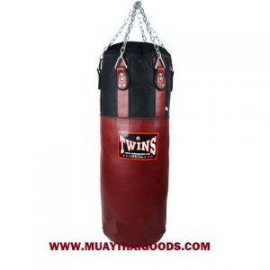 TWINS SPECIAL HEAVY BAG GYM TRAINING HBNL 3 BURGUNDY (Unfilled)
