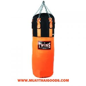 TWINS SPECIAL HEAVY BAG GYM TRAINING HBNL 3 ORANGE (Unfilled)
