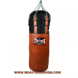 TWINS SPECIAL HEAVY BAG GYM TRAINING HBNL 3 CLASSIC BROWN (Unfilled)