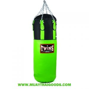 TWINS SPECIAL HEAVY BAG GYM TRAINING HBNL 3 GREEN (Unfilled)