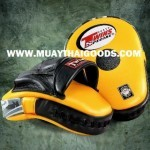 TWINS SPECIAL FOCUS PUNCHING MITTS PML 10 YELLOW BLACK