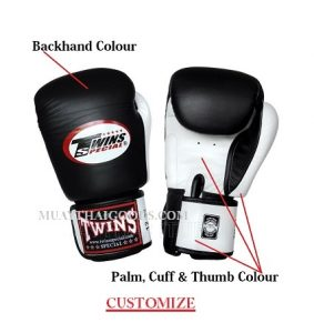 CUSTOM BOXING GLOVES MADE BY TWINS