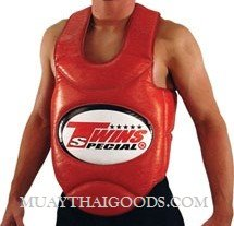 TWINS TRAINER VEST BODY GUARDS PROTECTOR BOPL-1 RED