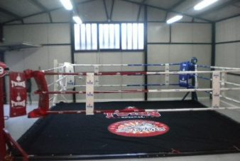 TWINS SPECIAL FLOOR BOXING RING COMPLETE