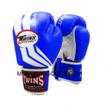 FBGV43 - TWINS SPECIAL BOXING - BLUE WHITE - MUAY THAI GLOVES