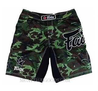 MMA BOARDSHORTS CAMO MADE BY FAIRTEX