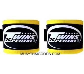 NEW TWINS SPECIAL HAND WRAPS ELASTIC YELLOW CH5