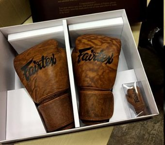 BGV15 Reborn gloves project FAIRTEX BOXING GLOVES