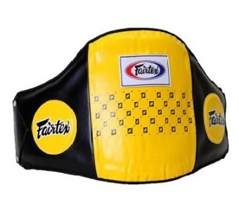 STANDARD LEATHER BELLY PAD BPV1 FAIRTEX YELLOW