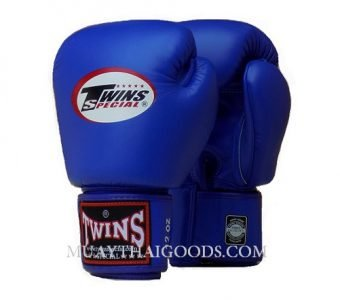 BLUE COMPETITION TWINS SPECIAL BOXING GLOVES BGVL3