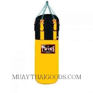 TWINS SPECIAL PUNCHING BAG GYM TRAINING HBNL3 DARK YELLOW (Unfilled)