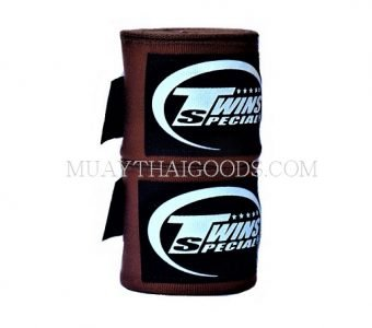NEW TWINS SPECIAL HAND WRAPS ELASTIC BROWN CH5