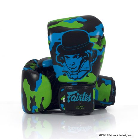 BGV17 FAIRTEX X LIMITED EDITION Ludwig Van ONLY 200 PAIRS IN THAILAND AND 200 IN USA