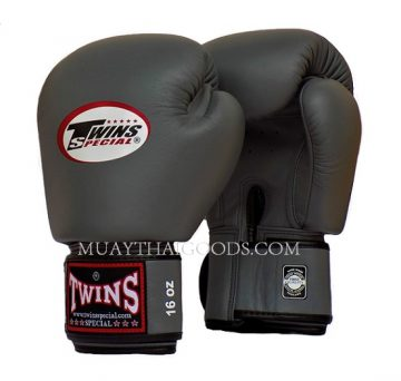 GREY TWINS SPECIAL MUAY THAI KICK BOXING GLOVES BGVL3