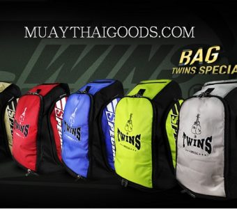 TWINS SPECIAL TRAINING GYM MUAY THAI BOXING BACKPACKER BAG5