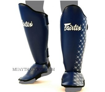 SP5 FAIRTEX - MUAY THAI BOXING SHIN GUARDS BLUE