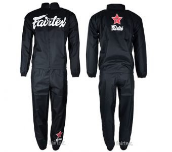SWEATSUIT VINYL BLACK VS2 MADE BY FAIRTEX