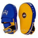 TOP KING MUAY THAI KICK BOXING forearm FOCUS EXTREME YELLOW BLUE TOP KING FOCUS EXTREAM