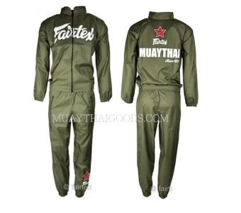 SWEATSUIT VINYL GREEN VS2 MADE BY FAIRTEX