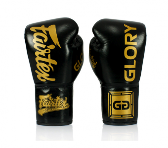 Black Fairtex Named Official Glove Provider of GLORY Kickboxing LACE UP