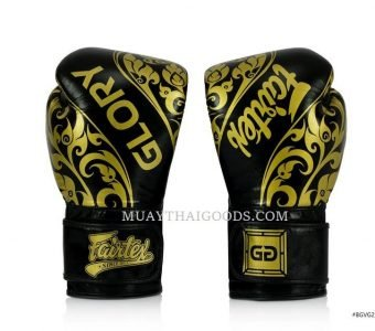 BLACK Fairtex Named Official Gloves Provider of GLORY Kickboxing BGVG2 VELCRO
