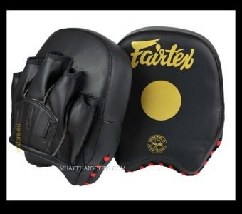 Fairtex Focus Mitts FMV14 Fast Training Black Gold