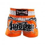 Twins Special Muay Thai Boxing Shorts Orange