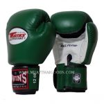 AIRFLOW TWINS SPECIAL BOXING GLOVES BGVLA DARK GREEN WHITE