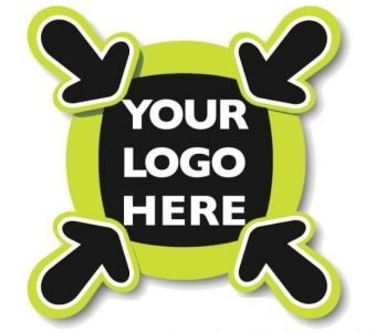 1000 PIECES HEAT TRANSFER STICKERS  10 x 5 cm for CUSTOMIZABLE PRODUCTS