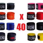 40 DECHA mix COLORS BOXING HAND WRAPS DHW5 SEMI ELASTIC