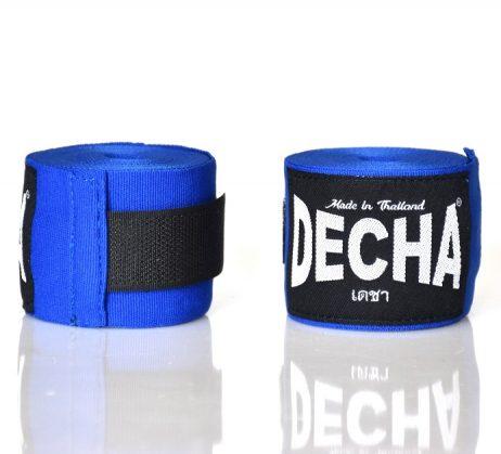 decha boxing handwraps blue