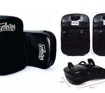 FAIRTEX FS3 BLACK VERSATILE KICK SHIELD PAD