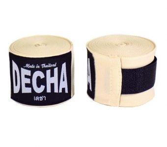 DECHA CREAM BOXING HAND WRAPS DHW5 SEMI ELASTIC 180″ / 4.5 M
