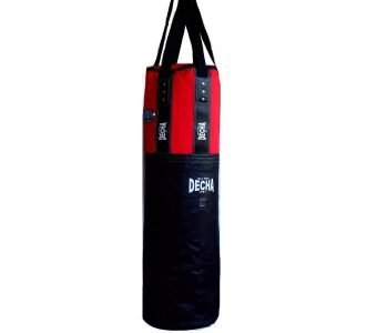DECHA MUAY THAI BOXING GENUINE LEATHER PUNCHING BAG HEAVY